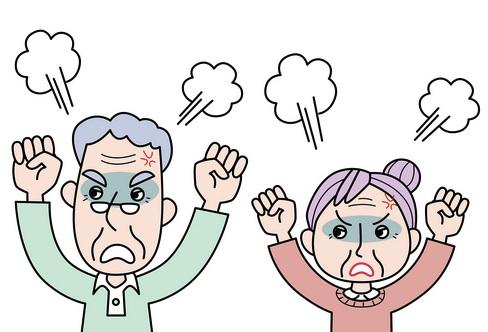 認知症による暴言・暴力の原因と対応は?